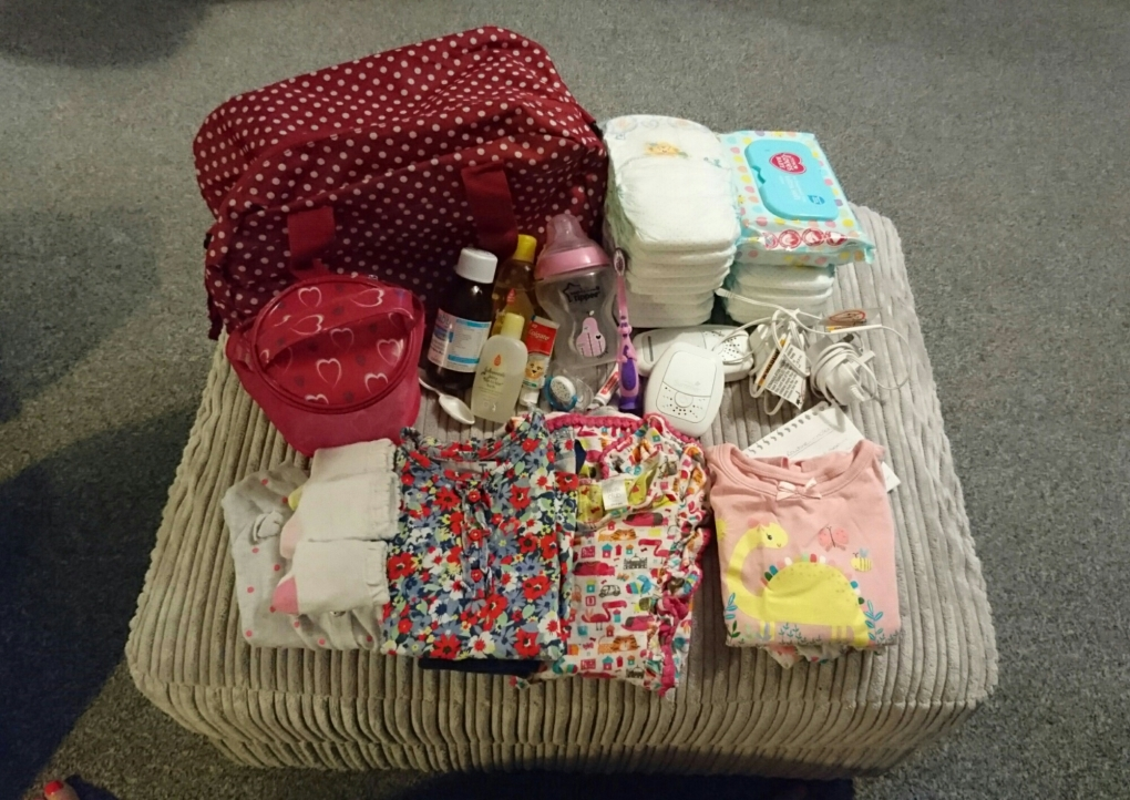 overnight bag for young children
